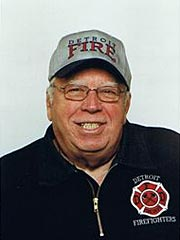 Author / Firefighter R.J. Haig.