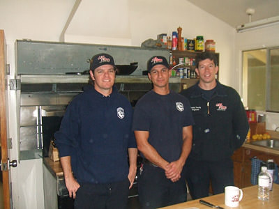 Three Firefighters dedicated to serving the public